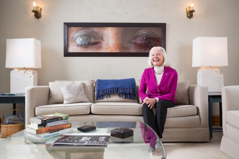 Barbara McInnes by Justin Van Leeuwen
