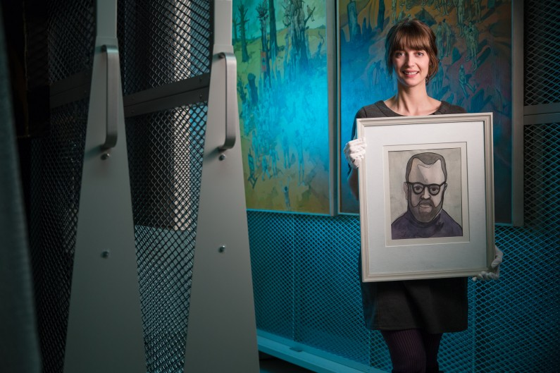 Ottawa Editorial Portrait Photographer Justin Van Leeuwen photographs Ottawa Art Gallery senior curator Catherine Sinclair
