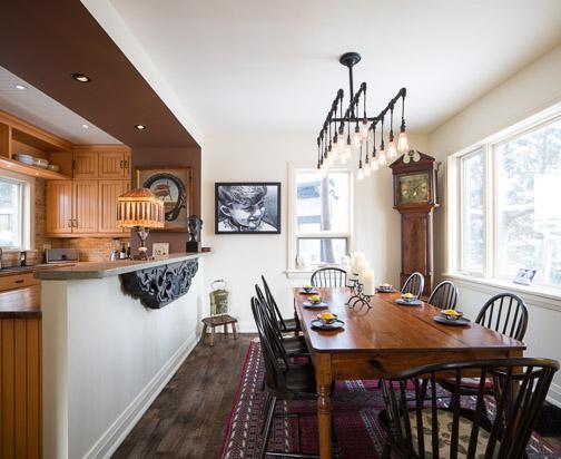 Ottawa Interior Photographer - Ion Aimers Dining Room