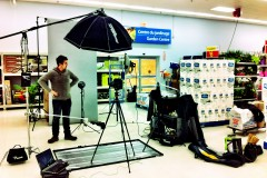Ottawa Editorial Photographer Justin Van Leeuwen's BTS Setup