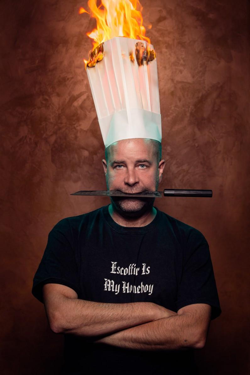 Chef Patrick Garland by Ottawa Portrait Photographer Justin Van Leeuwen