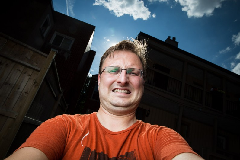 Ottawa Self Portrait Photographer Justin Van Leeuwen
