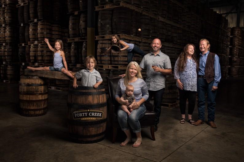 Extreme Family Portrait Photographer Justin Van Leeuwen - Hall-Warner Family