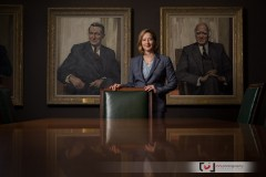 Ottawa Editorial Photographer Justin Van Leeuwen's portrait of Carolyn Wilkins