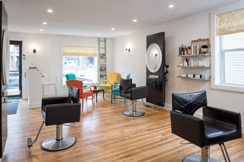 Ottawa Commercial Interior Photography JVLphoto - Mint Hair Studio