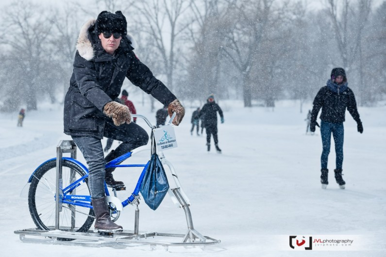 Ottawa Commercial Photographer Justin Van Leeuwen and the Ice Bikes of Buffalo