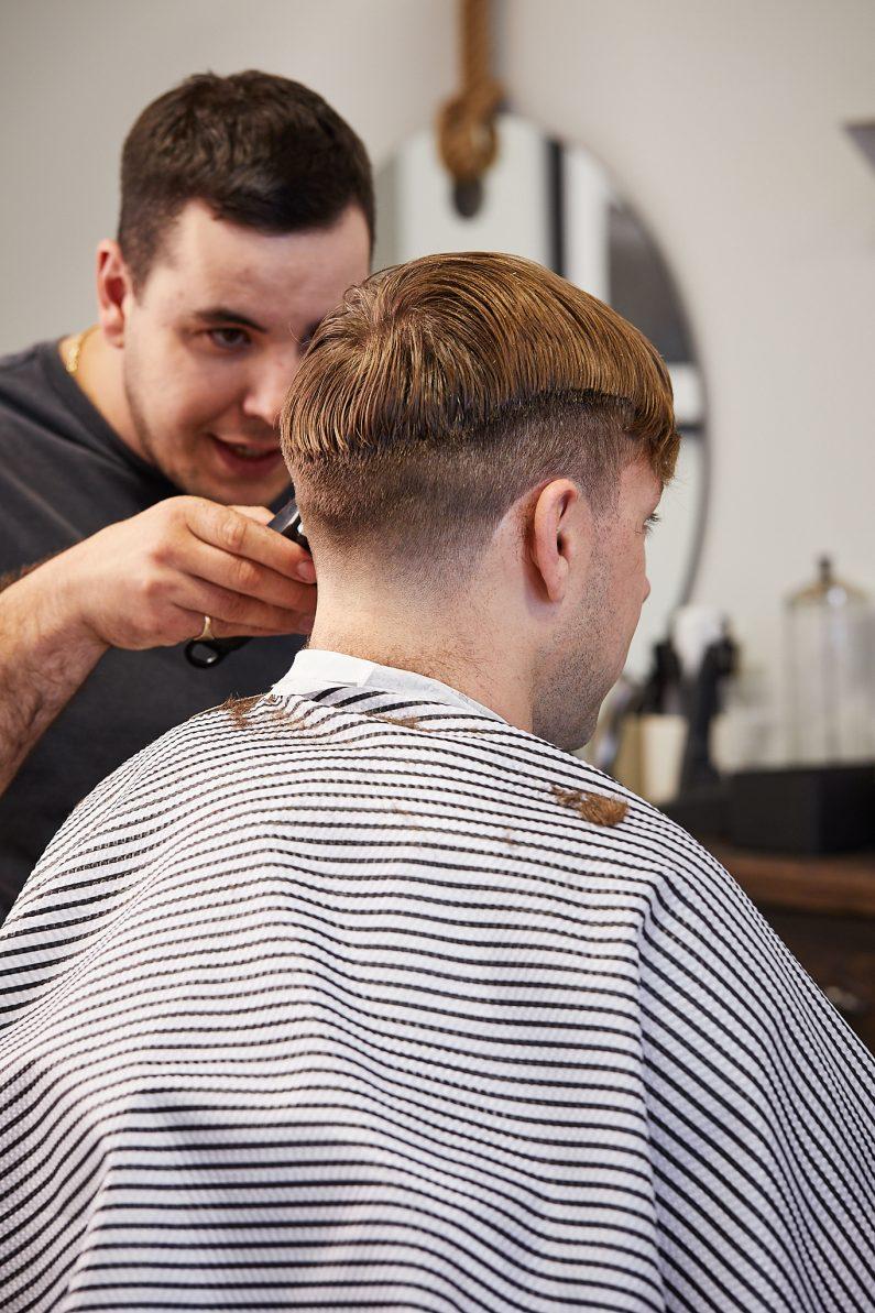 Foxhole Barbershop by JVLphoto