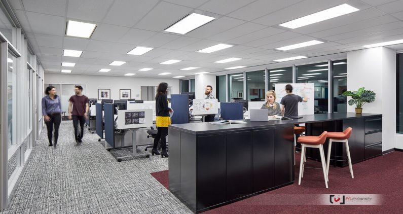 Corporate Office Interior Photography by Justin Van Leeuwen JVLphoto